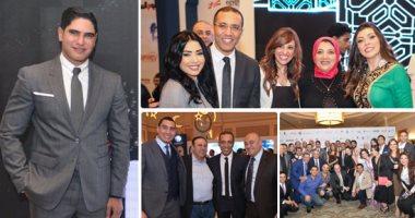 """وزراء الاتصالات والإسكان والتضامن والمصريين بالخارج فى إفطار """"إعلام المصريين"""""""