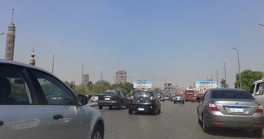 النشرة المرورية.. كثافات متوسطة بمحاور و ميادين القاهرة و الجيزة