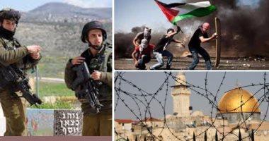العربية: إصابة خمسة فلسطينيين باشتباكات بين مصلين وقوات الاحتلال