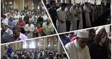 الآلاف يؤدون صلاة الجمعة قبل الأخيرة فى رمضان بالأزهر الشريف