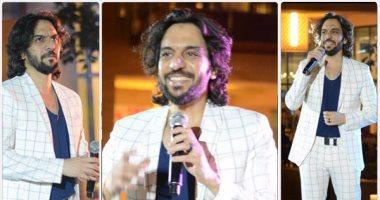 """بالفيديو.. بهاء سلطان يطرب جمهوره فى ليلة غنائية بـ """"مول مصر"""""""