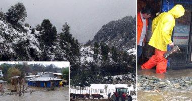 ثلوج كثيفة وفيضانات تجتاح جمهورية تشيلى