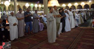 صلاة التهجد من مسجد عمرو بن العاص