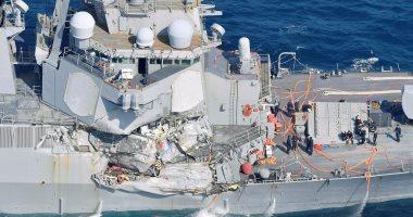 فقدان 7 من طاقم مدمرة أمريكية بعد اصطدامها بسفينة تجارية قرب سواحل اليابان