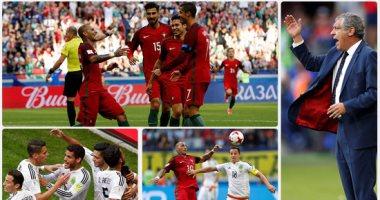 البرتغال تتعادل مع المكسيك فى مباراة مجنونة بكأس للقارات
