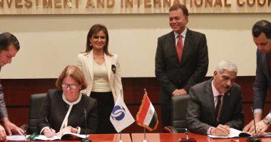 وزير النقل يشهد توقيع اتفاق مع البنك الأوربى لتمويل شراء 100 جرار جديد