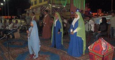 """بالصور.. عرض مسرحية """"الحضرة الذكية"""" على خشبة ثقافة جنوب سيناء"""