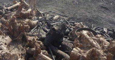 إطفاء 18 مكمورة فحم بمدينة الخانكة