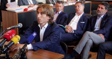 لوكا مودريتش يواجه خطر السجن 5 سنوات لشهادته الزور