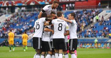 شاهد.. ألمانيا تفتتح مشوارها فى كأس القارات بفوز مثير على أستراليا