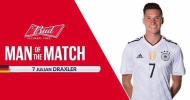 دراكسلر أفضل لاعب فى مباراة ألمانيا وأستراليا بكأس القارات