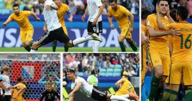 ألمانيا تفوز على استراليا 2/3 فى كأس العالم للقارات