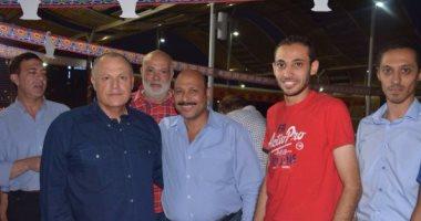 بالصور.. حفل إفطار موظفى الجبلاية بحضور أبو ريدة والثعلب