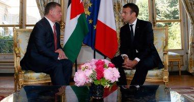 بالصور.. تفاصيل القمة الفرنسية الأردنية فى باريس