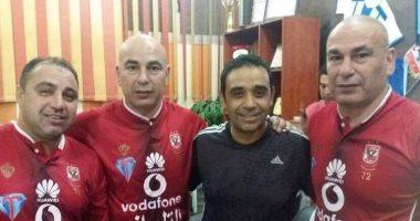 شاهد.. حسام وإبراهيم حسن بقميص الأهلى فى دورة رمضانية