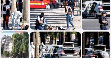 """الشرطة الفرنسية تفشل عمل إرهابى فى """"الشانزليزيه"""" بباريس"""