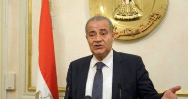وزير التموين يتعهد بحل مشاكل مستثمرى التجارة الداخلية