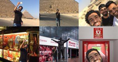 بالصور.. جماهير ليفربول يعبرون عن حبهم لمحمد صلاح بطريقتهم الخاصة