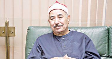 """الشيخ محمد محمود الطبلاوى ردًا على شائعة وفاته: """"شقيقتى توفيت أمس"""""""
