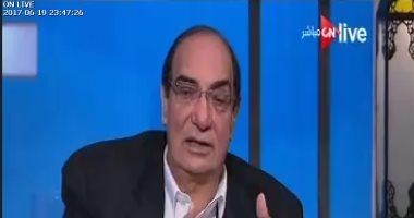 """بالفيديو.. مجدى أحمد على: """"وضع أمنى"""" لا يبرر الإرهاب وانتظروا أخر حلقة"""