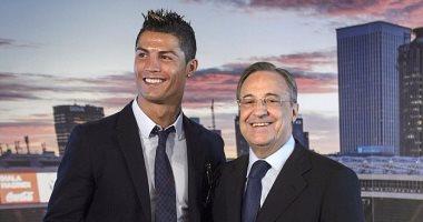 رئيس ريال مدريد: من يريد التعاقد مع رونالدو عليه دفع مليار يورو