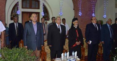محافظ الاسماعيلية يشهد الإحتفالية الرمضانية بالكنيسة الكاثوليكية