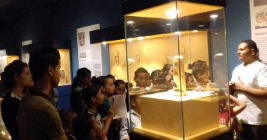 شاهد.. الجمهور يختار تمثال أوشابتى لعرضه فى متحف ملوى