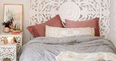 66703b302 بالصور..غرف نوم باللون الأبيض لعشاق الأناقة والهدوء - اليوم السابع