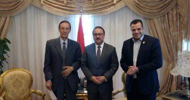 وزير الاتصالات يلتقى بحمدى الكنيسى..ويؤكد دعمه الكامل لنقابة الإعلاميين
