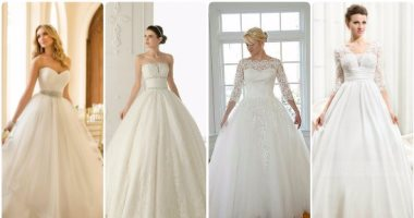 f7928ad0b لعروسة العيد لو بتحبى المنفوش..10 فساتين زفاف اختارى اللى يناسبك ...