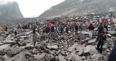 11 قتيلا بينهم أطفال إثر انهيارات أرضية وسط كولومبيا