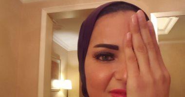 """سما المصرى ترتدى الحجاب فى أولى تغريداتها على""""تويتر"""":انتظروا مفاجأة 2017"""