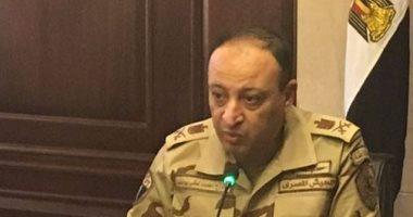 وفاة قائد المنطقة الشمالية العسكرية نتيجة حادث انقلاب سيارته بوادى النطرون