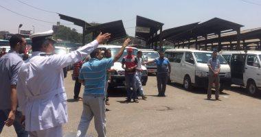 مساعدو وزير الداخلية يتفقدون مواقف السيارات لضبط تعريفة الأجرة