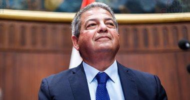 وزير الشباب يهنئ منتخب مصر لشابات الخماسى الحديث بعد فوزهم ببرونزية العالم