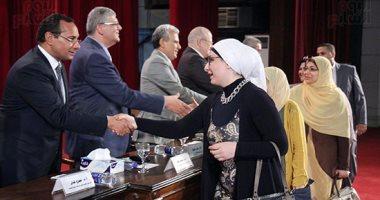 بالصور.. جامعة القاهرة: النشر العلمى بالجامعة يمثل 18.5% من أبحاث مصر الدولية
