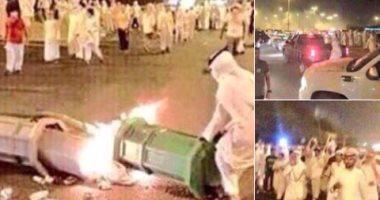 """معارض قطرى ينشر صوراً لمظاهرات بقطر قبل """"جمعة الغضب"""" تحت شعار """"ارحل يا تميم"""""""