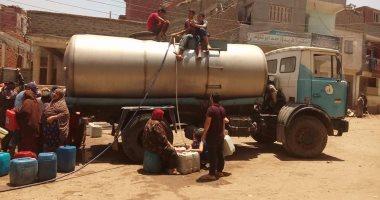 انقطاع المياه عن شارع مصطفى العسال فى أرض اللواء