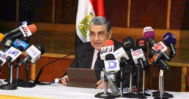 """وزير الكهرباء تعليقا علي مباراة المنتخب اليوم :""""يا رب الفوز لمصر"""""""