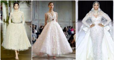 5aebebbe2 10 فساتين زفاف من أسبوع الأزياء الراقية فى باريس لازم تشوفيهم ...