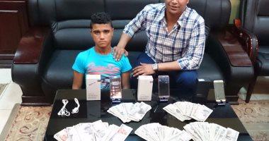 القبض على عاطل سرق شركة للهواتف المحمولة بسوهاج