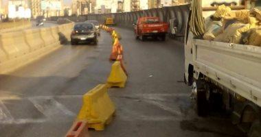 تعيين خدمات بمحيط أعمال إصلاحات بمحور الشهيد فى مدينة نصر لمدة أسبوع
