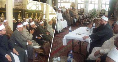 وزارة الرى توعى الدعاة واﻷئمة بالمركز اﻹسلامى ببورسعيد بأهمية ترشيد المياه