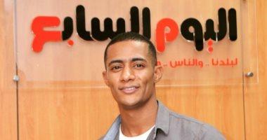"""محمد رمضان عن زيارته لـ""""اليوم السابع"""": استقبال محترم من مؤسسة محترمة"""