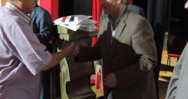 مديرية أمن سوهاج تنظم إحتفالية حجاج القرعة بقصر ثقافة سوهاج