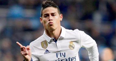 جيمس رودريجيز يرغب فى العودة إلى ريال مدريد بعد رحيل زيدان