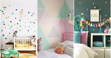 ألوان غرف أطفال للحوائط هتغيرلك شكل الأوضة لو مستنية البيبى