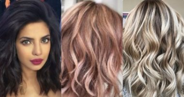ألوان صبغات الشعر للبشرة الفاتحة