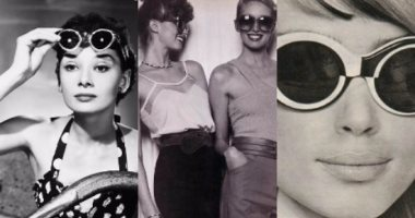 4b3736ad5 بالصور.. كيف تطورت موضة النظارات الشمسية فى 50 سنة؟ - اليوم السابع