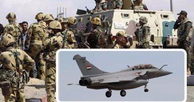 القوات المسلحة تعلن مقتل 19 تكفيريا بالعملية سيناء 2018